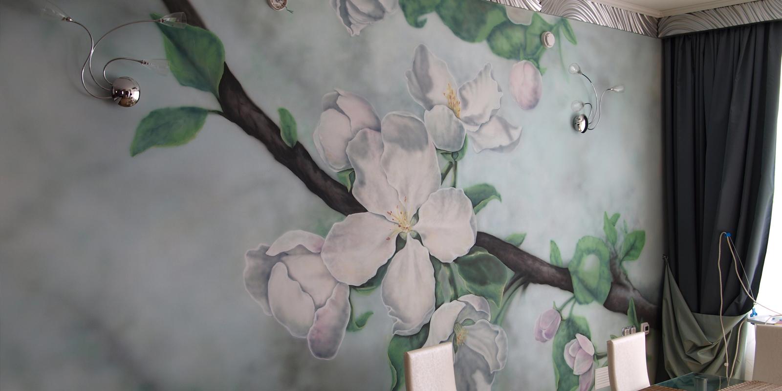 Роспись, аэрография, безвоздушная покраска